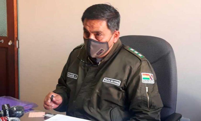 FELCC investiga hallazgo de dinamita sobre carretera Oruro-Cochabamba