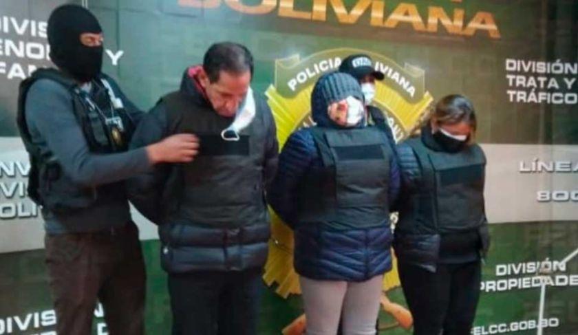 Caen tres falsos policías acusados de delinquir en la ciudad de La Paz