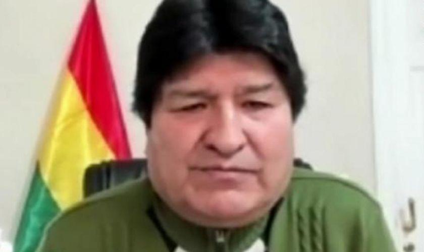 Evo Morales dice que un miembro del TSE le informa sobre el pedido de eliminación de la sigla del MAS