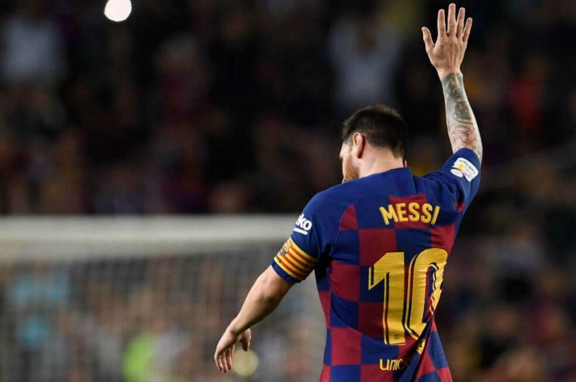 Messi pide irse del Barcelona