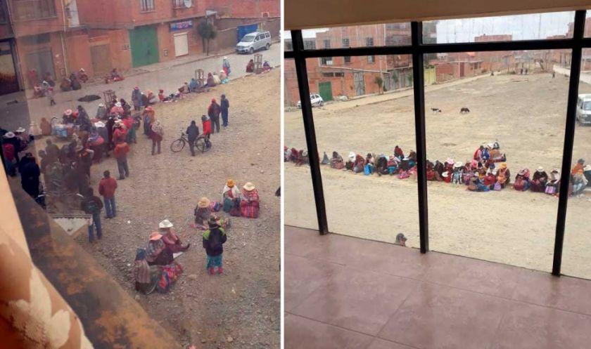 El Alto: Denuncian toma de Subalcaldía, con retención de personas y destrozos