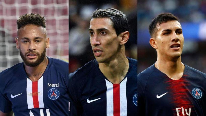 Neymar, Di María y Paredes dieron positivo por coronavirus
