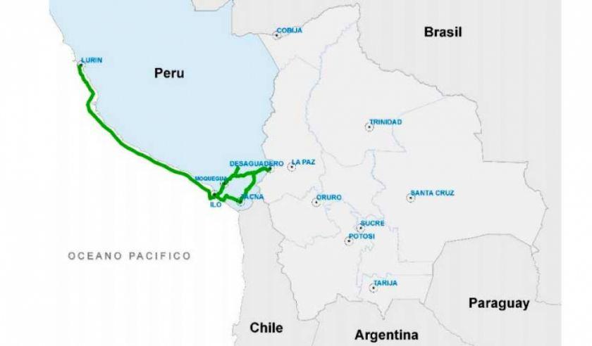 Bolivia ya tiene conexión de fibra óptica de internet al Pacífico
