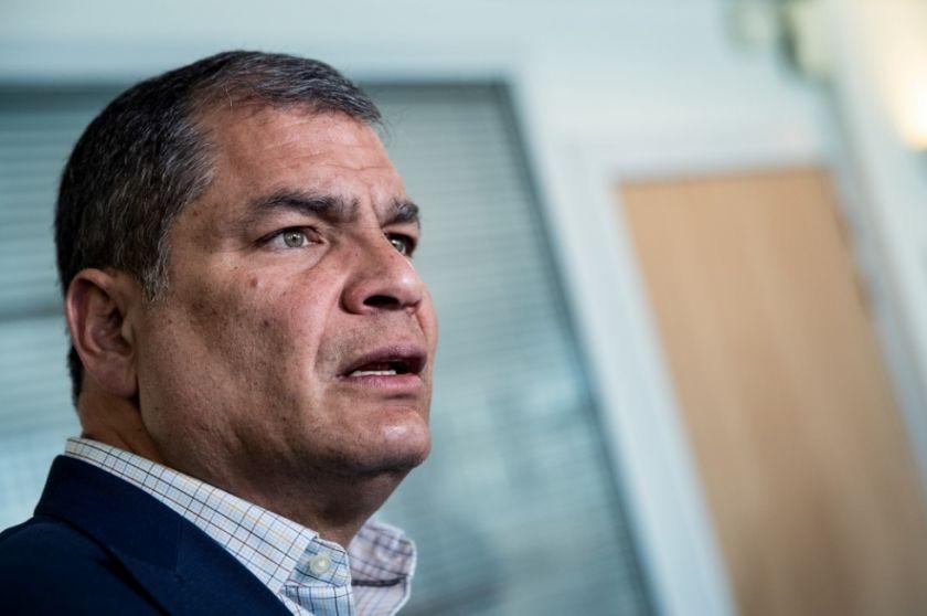 Justicia de Ecuador confirma condena a ocho años de cárcel contra Correa