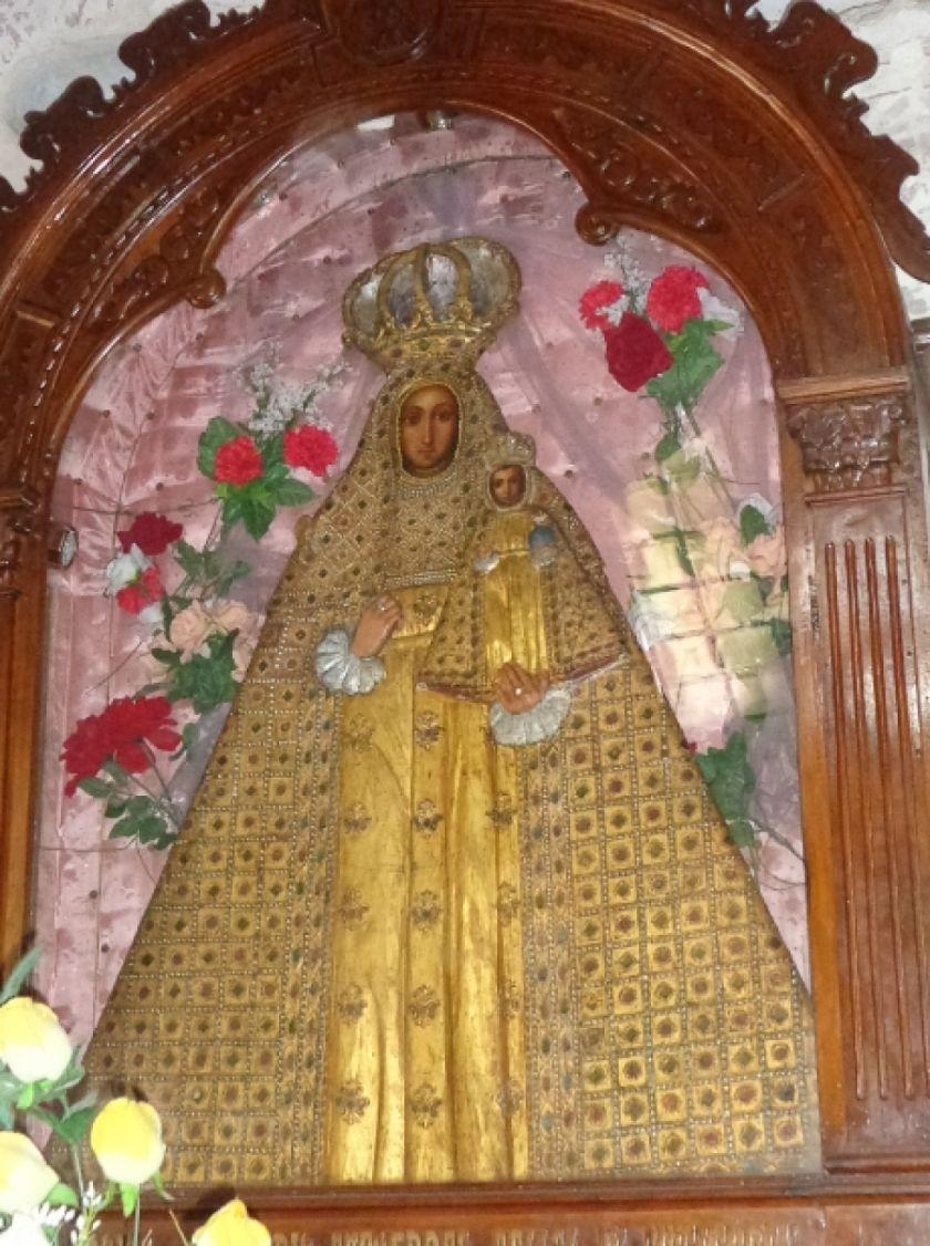 Devotos homenajearon a la Virgen de Guadalupe de Potosí