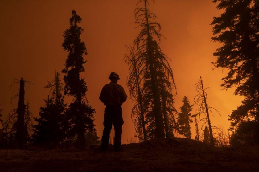 El humo de los incendios en el oeste de EE.UU. llega hasta Nueva York