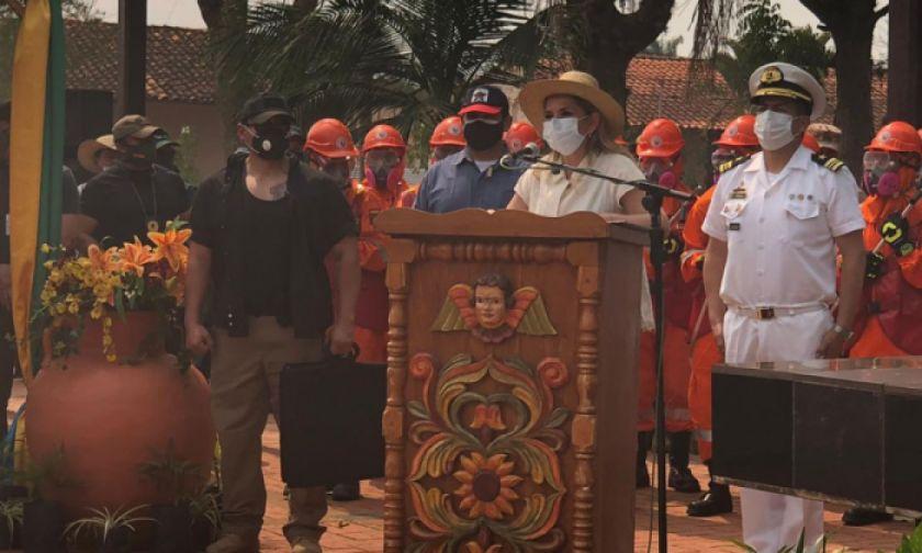 Jeanine Añez abroga decreto de los chaqueos y declara emergencia nacional por incendios