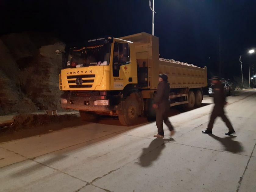 El Potosí verifica que volqueta sacó carga ilegal del Cerro Rico