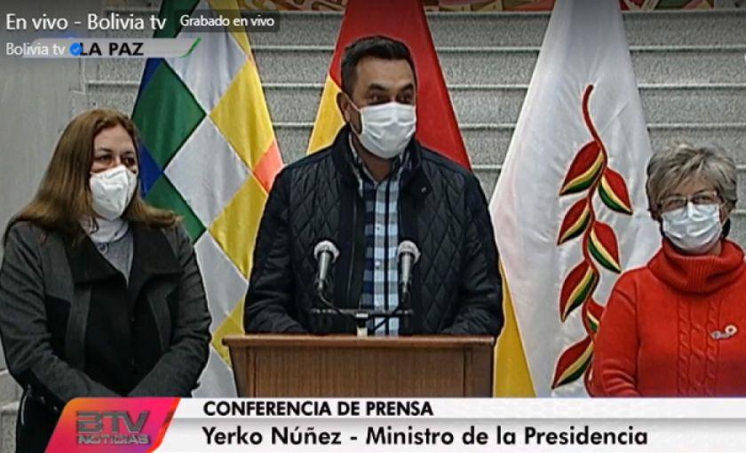 """Gobierno anuncia juicio de responsabilidades contra Evo Morales por normas """"ecocidas"""""""