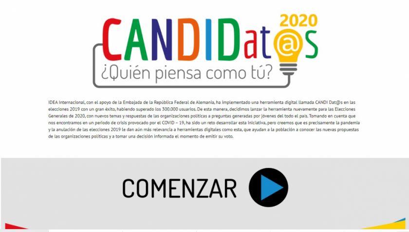 IDEA Internacional propone una herramienta web al servicio del voto informado