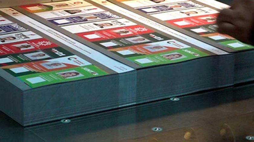 """El TSE afirma que impresión de papeletas no se modificará """"bajo ninguna circunstancia"""""""