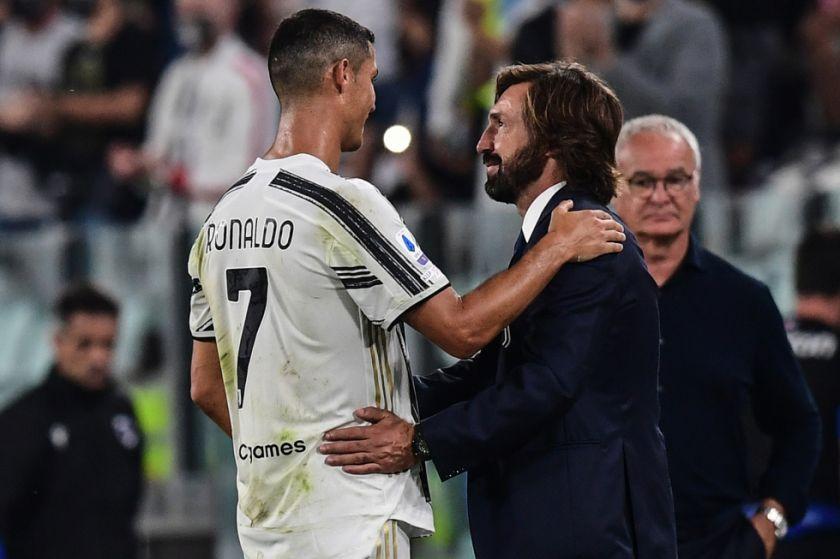 Pirlo debuta en la Juventus con triunfo y gol de Ronaldo