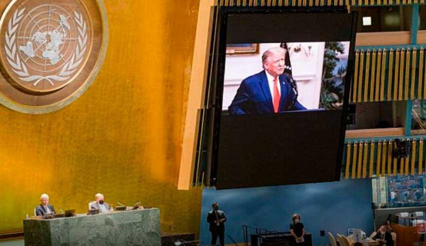 """Trump pide a la ONU que haga a China """"rendir cuentas"""" por """"infectar al mundo"""" con COVID"""