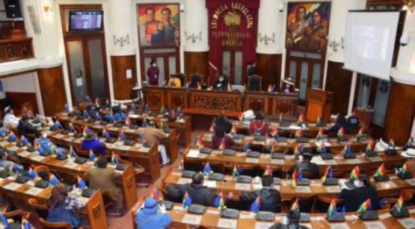 Legislativo advierte que no aprobará ningún crédito hasta el fin del gobierno de Añez
