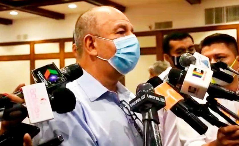 """Murillo advierte para el 18 de octubre """"aquel que quiera desordenar va a acabar en una celda"""""""
