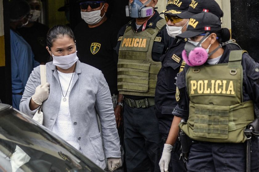 Keiko Fujimori retorna a la política a casi seis meses de elecciones peruanas