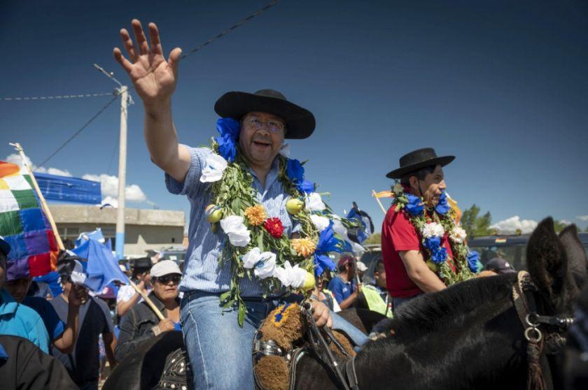 """Luis Arce llama """"acción desesperada"""" denuncia de la oposición"""