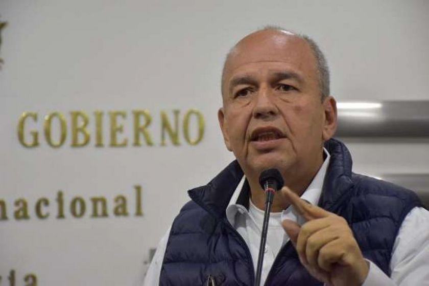 Arturo Murillo viajó a Estados Unidos para varias reuniones