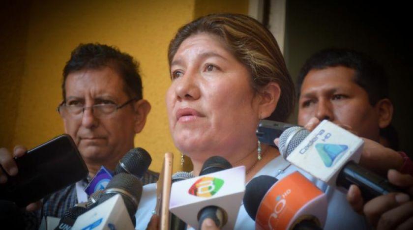 Gobernadora Soria espera que Murillo no esté tramando alguna situación en EE.UU.