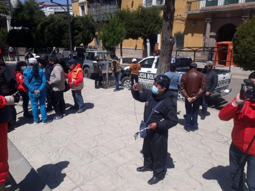 Trabajadores de la prensa en Potosí expresa su condolencia por deceso de Marcos Montero