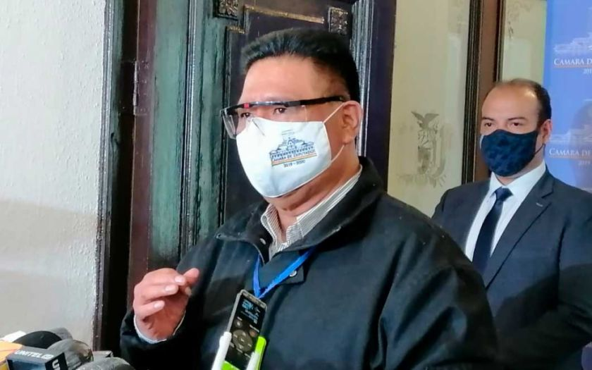 """Choque exhorta a Murillo que deje de """"destilar veneno"""" entre los bolivianos"""