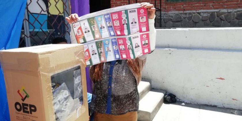 Elecciones 2020: papeletas no se entregarán en las manos  y tampoco se podrá tocar las ánforas