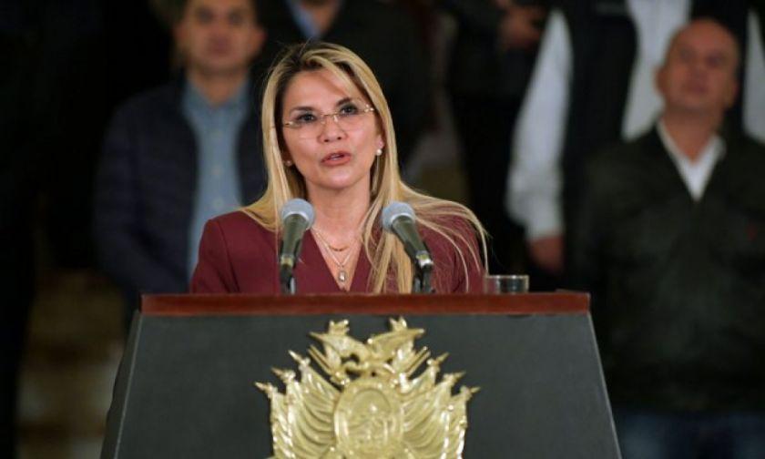 En el Día de la Democracia, la presidenta Áñez insta a impulsar la libertad y los valores democráticos