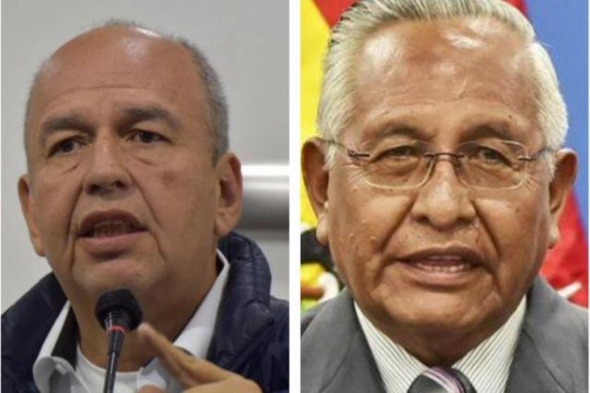 Añez cesa a Murillo y Cárdenas como ministros tras la censura legislativa