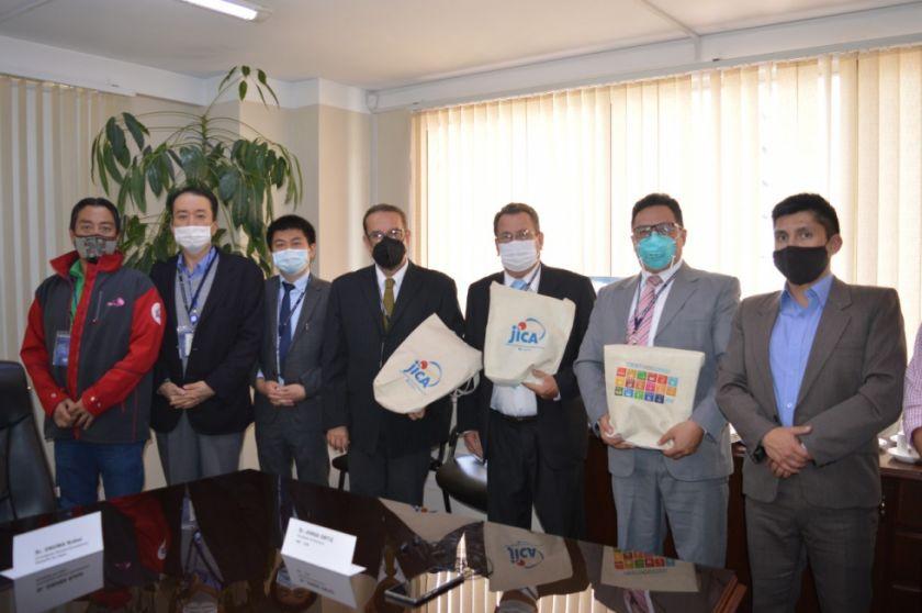 BDP y JICA Bolivia sostienen reunión en busca de alianzas