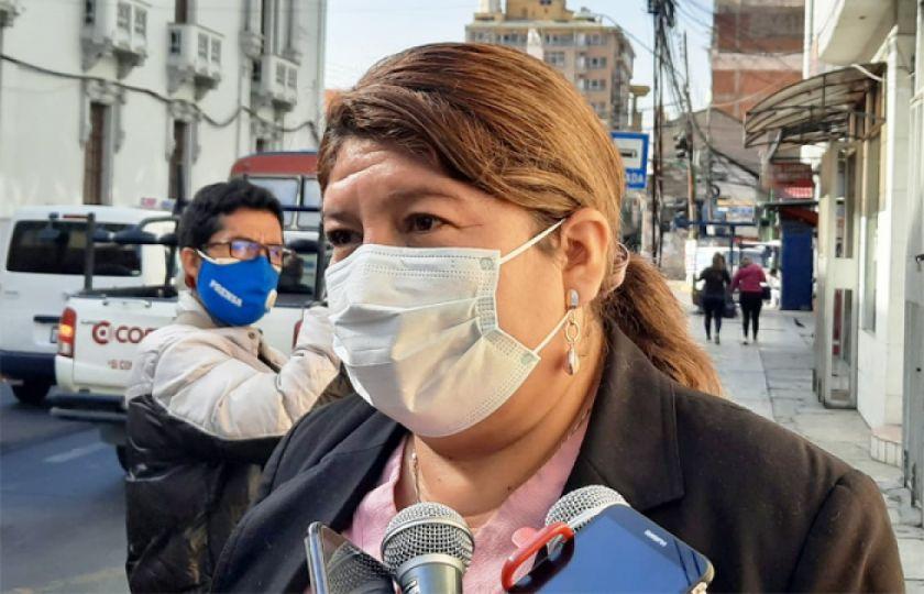 """Esther Soria afirma que sigue siendo Gobernadora de Cochabamba"""""""