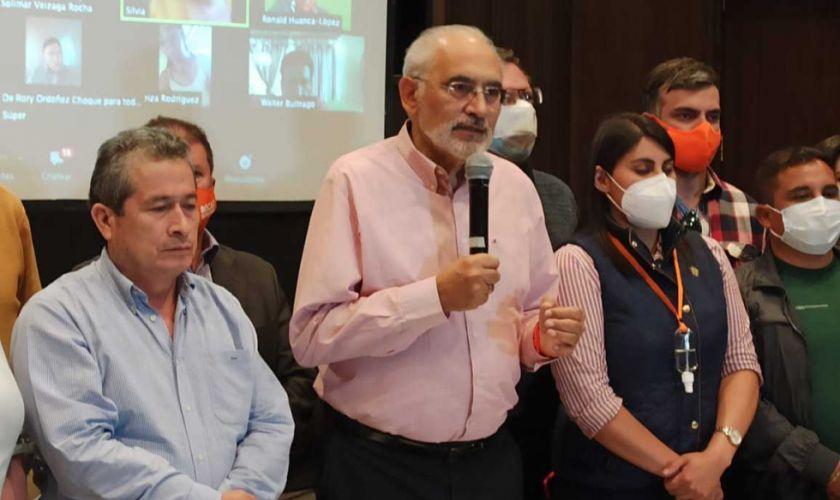 """Comunidad Ciudadana promete """"unidad monolítica"""" de su bancada"""
