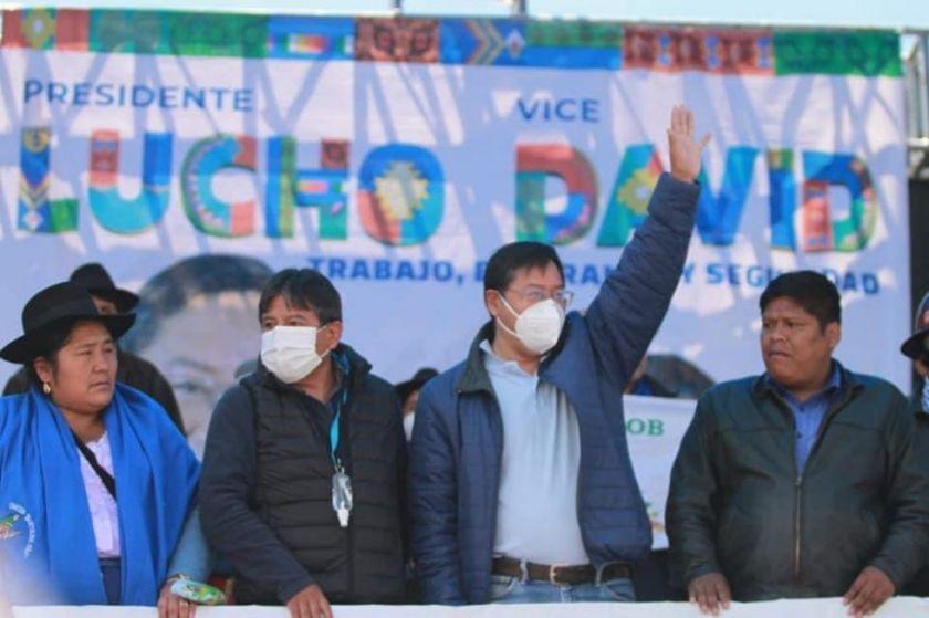 El MAS celebra su victoria electoral en El Alto