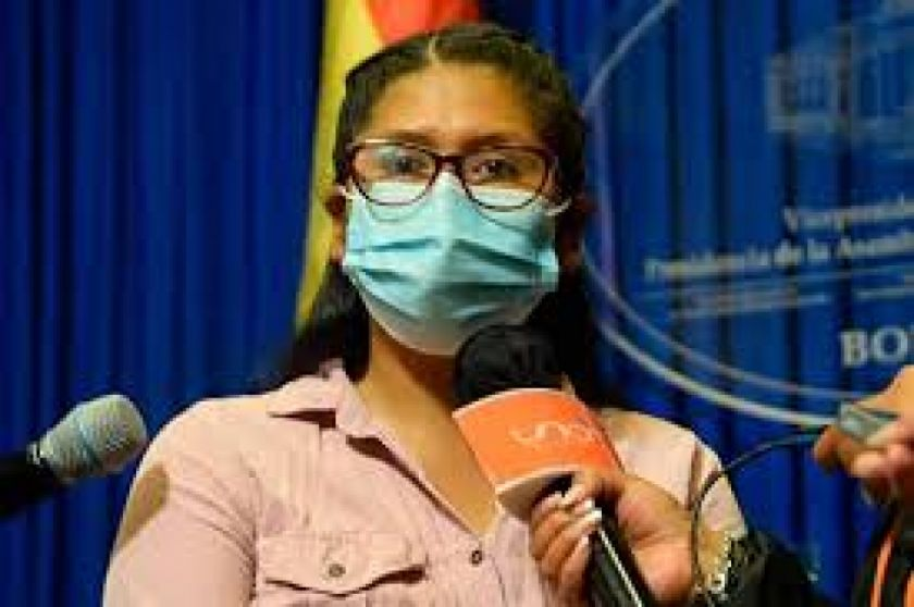 Eva Copa ¿Candidata a la alcaldía de El Alto?