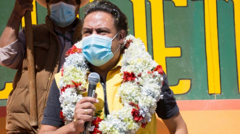 """Revilla pide a Luis Arce y David Choquehuanca """"gobernar para todos"""""""