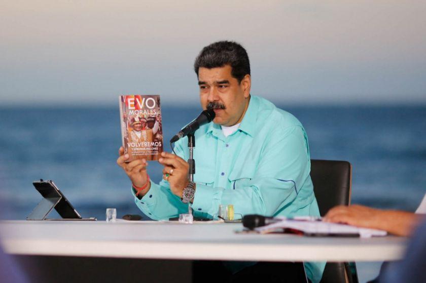 ¿Qué hizo Evo Morales en Venezuela? Maduro responde