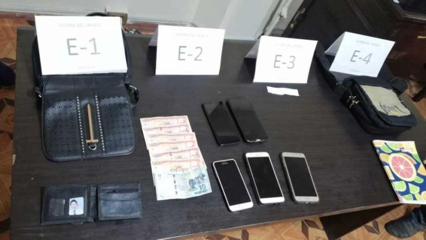 Atrapan a mujer en posesión de celulares robados en el festejo del MAS en El Alto