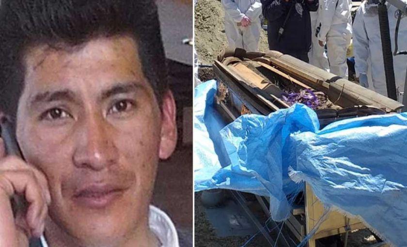 Pericias determinan que los restos sí son de Jorge Clavijo
