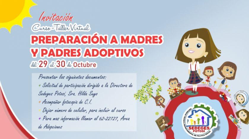 El Sedeges desarrolla taller de preparación a madres y padres adoptivos