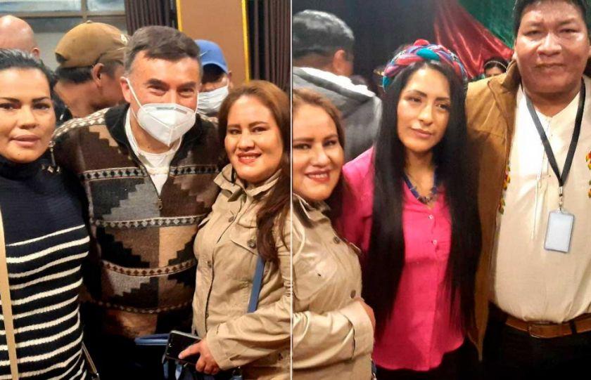 Juan Ramón Quintana y Wilma Alanoca ya no están en la Embajada de México
