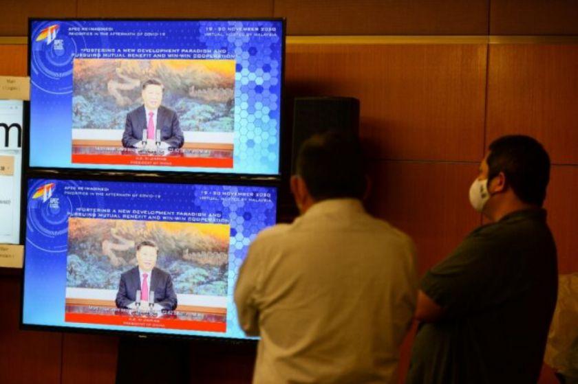 Trump, que sigue negando su derrota, interviene en la cumbre de la APEC