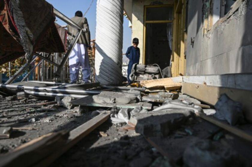 Reportan ocho muertos en un ataque con cohetes en el centro de Kabul