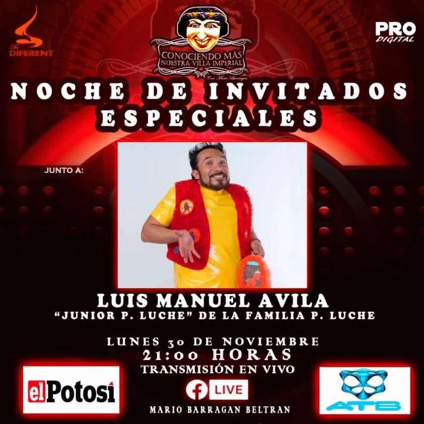 Junior P Luche tendrá una entrevista para Potosí