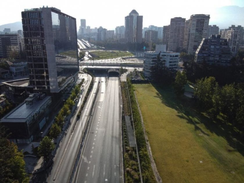 Santiago de Chile inicia cuarentena de fin de semana por aumento de casos de covid-19