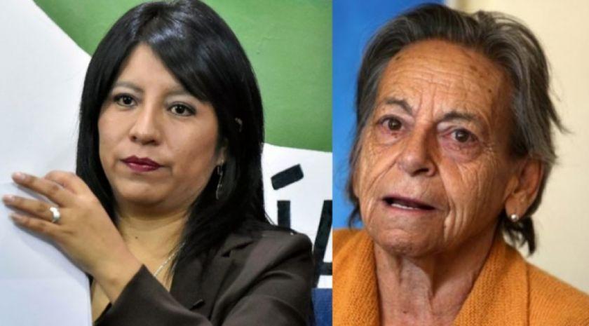 Amparo Carvajal desmiente que la Asamblea de DDHH respalde a Cruz para la CIDH