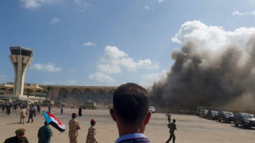 Reportan que hay 10 muertos y decenas de heridos por explosiones en Yemen