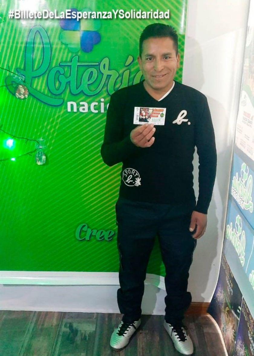 Ya se encontró al ganador del premio mayor de la lotería en Potosí