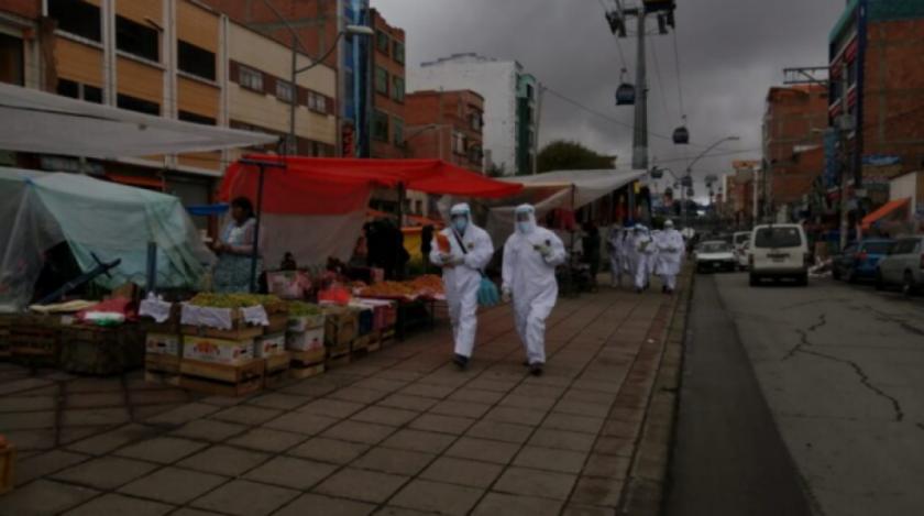 Retoman los mega cordones sanitarios en El Alto, ante incremento de casos de Covid-19