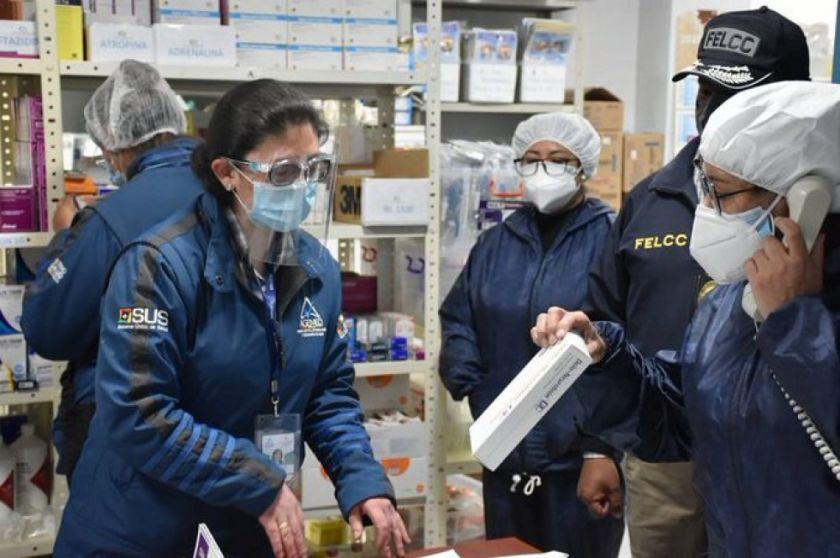 Gobierno afirma que aplica plan conjunto para el control de farmacias en todo el país