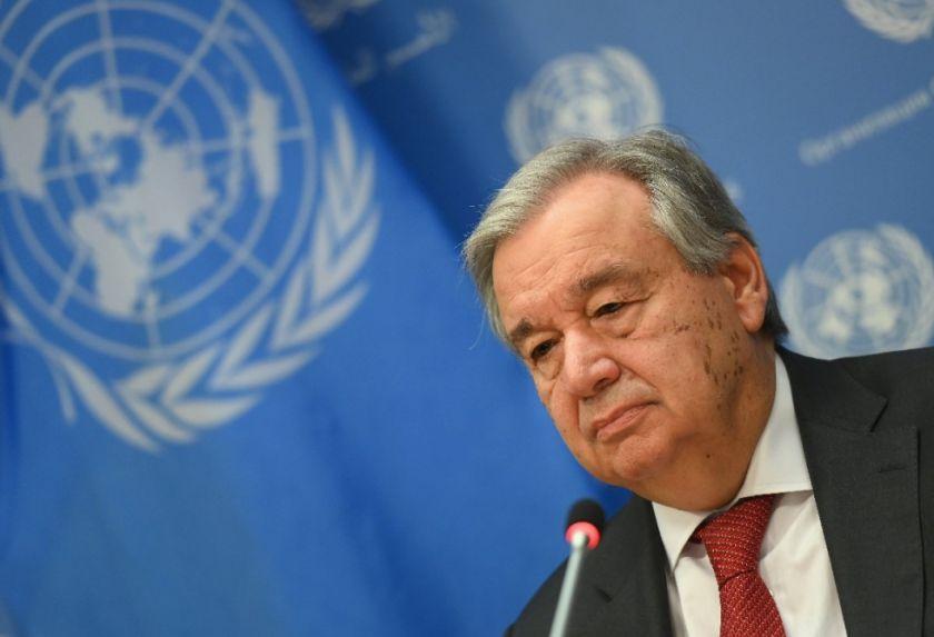 Antonio Guterres, candidato a un segundo mandato al frente de la ONU