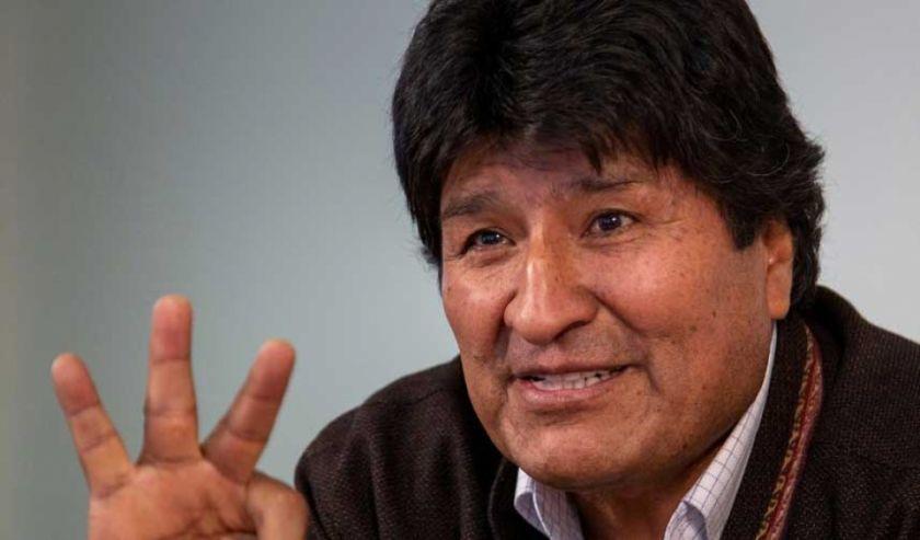 """Evo Morales pide que se vacune al Cardenal Ticona, Mesa, el Mallku y Aguilar """"debido a la edad"""""""